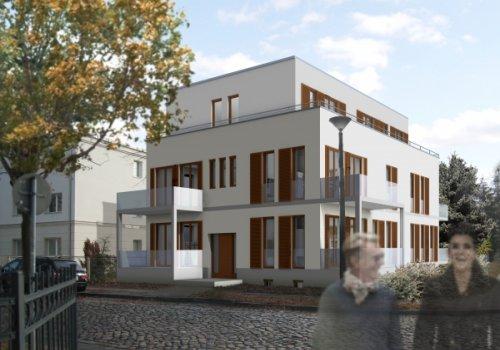 Entwurfsplanung für ein Mehrfamilienwohnhaus,…